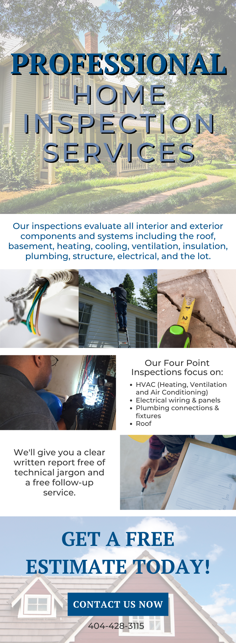 Your Professional Home Inspectors! 3